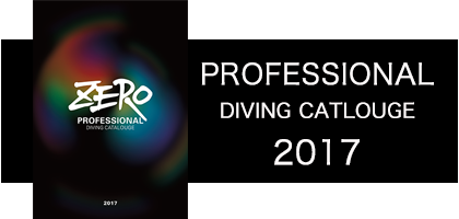 ZERO ダイビング  プロフェッショナルカタログ プロ ダイバー 製品